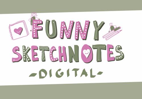Funny Sketchnotes - Digital