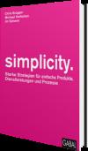 simplicity. Buchcover