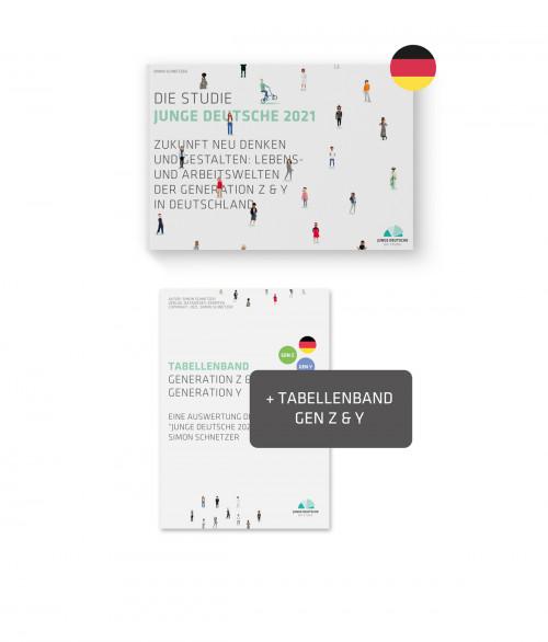 Produktbild - Studie Junge Deutsche 2021 - Publikation PLUS
