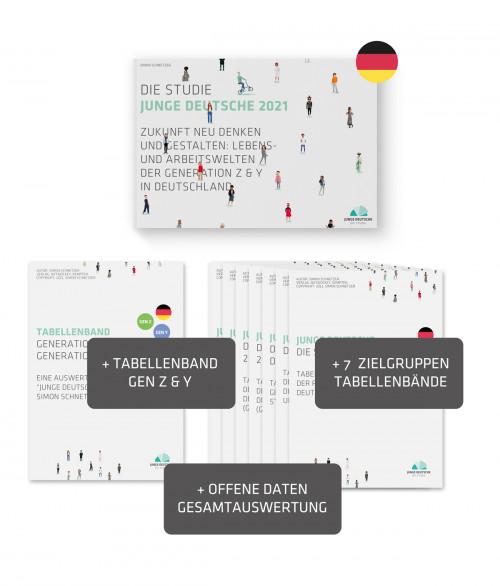 Produktbild - Studie Junge Deutsche 2021 - Publikation FORSCHUN