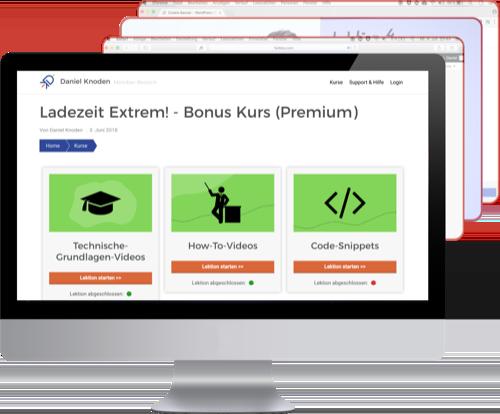Ladezeit Extrem - Der Bonus-Bereich Premium