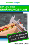 Der Low Carb Ernährungsplan