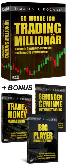 Trading Millionär Komplettpaket Cover